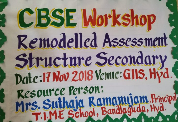 teachers workshop in giis